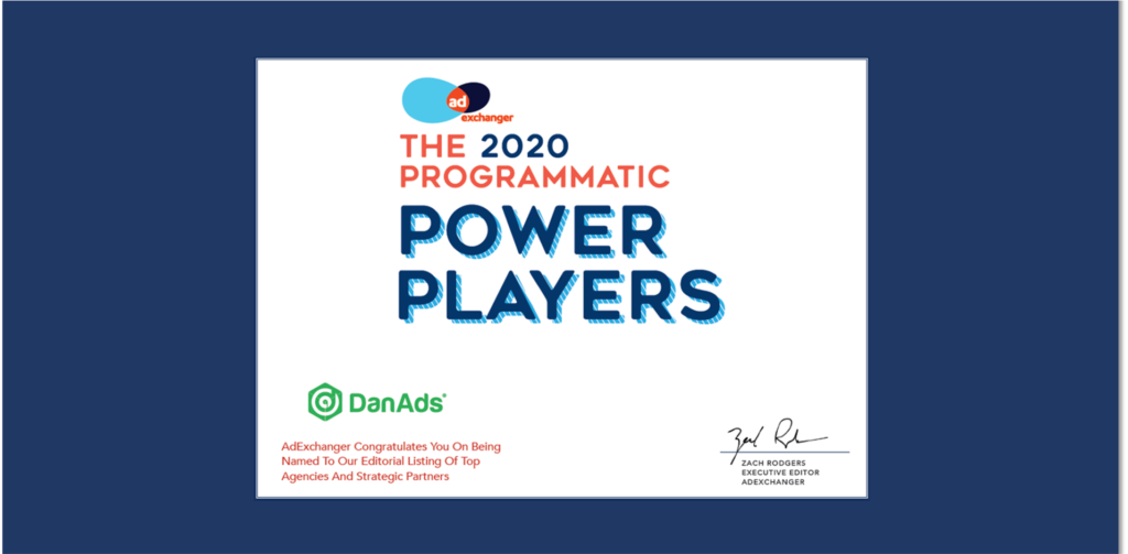 DanAds an AdExchanger Power Player