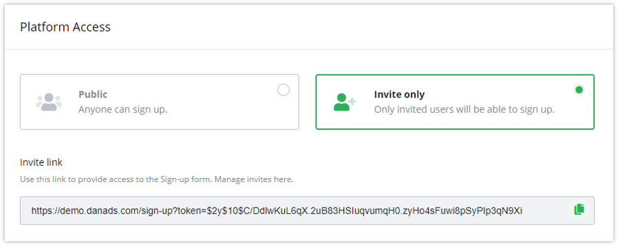 Additional benefit invite function