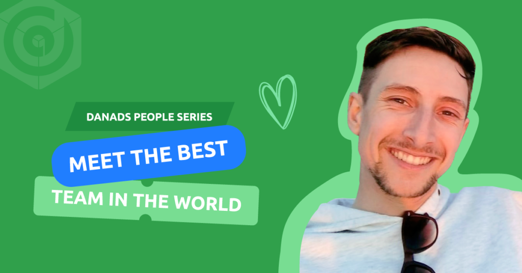 Eoin McGregor from the Customer Success team
