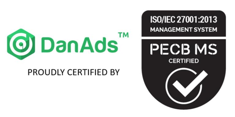 DanAds ISO certified