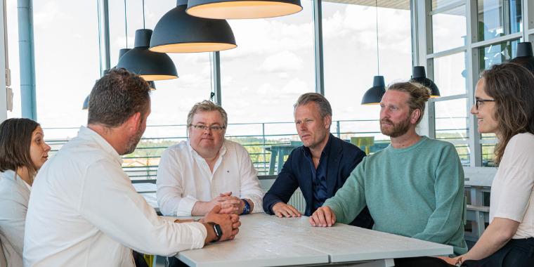 At the DanAds office in Sollentuna, Sweden